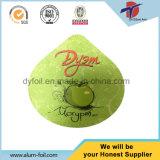 Tapas del papel de aluminio para la taza del yogur