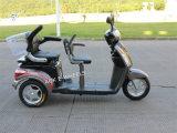 triciclo elétrico dos assentos de 500With700W 48V dois com bateria acidificada ao chumbo (TC-018B)