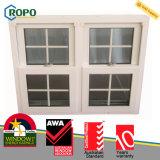 Изготовление окна профиля UPVC Veka пластичное двойное повиснутое