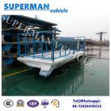 rimorchio pieno di agricoltura 5t di carico della barra di traino a base piatta pratica di trasporto