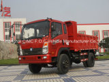 Sinotruk Cdw 737series Automatic Small Light Duty Mini Cargo Tipping Dumper Lorry Tipper Dump Truck