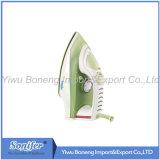 Электрический перемещая электрический утюг утюга пара Sf-8833 с керамическим Soleplate (зеленый цвет)