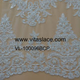 Tissu Wedding &Beaded Vl-60066bcp de lacet attaché par rayonne de fabrication