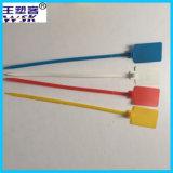 Selo plástico vermelho/branco/azul/amarelo do tamanho grande da etiqueta 40cm (PP)