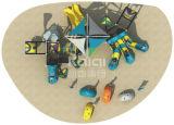 Kaiqi großer im Freien Commerical Spielplatz mit multi Plättchen und Abenteuer-Herausforderungen