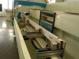 Centro de mecanización de perforación de aluminio de la pared de cortina del perfil de 4 ejes que golpea ligeramente que muele