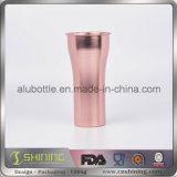 金属のアルミニウム飲むコップ