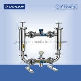 Sanitario Filtro Ss 304 Duplex (tipo recto) para producción de bebidas