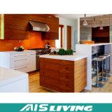 米国式の削片板の純木の食器棚(AIS-K150)