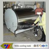 Tanque de armazenamento refrigerando do depósito de leite