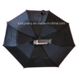 Logo Printの強いThree Folding Manual Open Promotional Umbrella