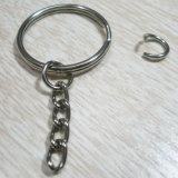 Anel chave com corrente