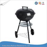 BBQ esterno del carbone di legna della caldaia della griglia mobile rotonda del barbecue