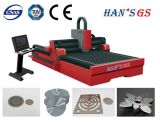 Macchina del laser della Cina che adotta la taglierina inclusa del laser della fibra di Ipg del metallo delle parti con il servomotore del Giappone