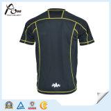 Maglietta di Dri di ginnastica degli uomini adatti all'ingrosso della maglietta