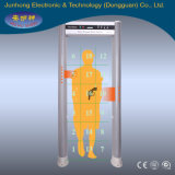 Elliptic Column Door Frame Security Walk Through Metal Detector