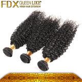 ベストセラーの最も普及した加工されていないペルーの毛の黒髪の拡張