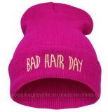 chapeau du Beanie 100%Acrylic tricoté par mode