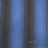 água de 50d 290t & da forma do revestimento do poliéster listrado do jacquard para baixo revestimento Vento-Resistente tela 100% Cationic tecida do filamento do fio (X024)