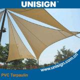 Impermeável, PVC Anti-UV revestido encerado para Toldo