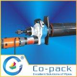 電気軽量の管の準備をする機械