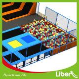 Arène de trempoline, parc d'attractions d'intérieur de trempoline