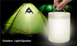 Mini Portable Wireless Bluetooth Speaker con Touch Control Night Light (ID6006)
