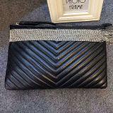 La marque chaude de cuir véritable de vente met en sac le sac d'embrayage de créateur Emg4561