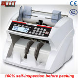 Argent populaire de monnaie comptant la machine avec le détecteur faux de note