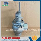 O fluxo manual do produto comestível Ss304 desvia a válvula