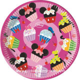 Placas de papel disponibles para la fiesta de cumpleaños