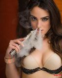Cigarrillo exacto de Mods E del control de la temperatura del cigarrillo Ni200 de la Mod 50W Vape E del rectángulo de Vape