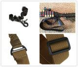 PRO New tactique Portée armée militaire Single Point Bungee Gun réglable Rifle Sling Noir