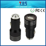 5V 2.4A Metal Safety Hammer Mobile Phone Dual USB Car Charger