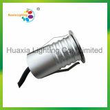 Luz subterrânea do diodo emissor de luz da venda quente 1W IP67/IP68 da alta qualidade, luz de Inground