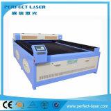 الاكريليك / الجلود / نسيج الملابس آلة القطع بالليزر مع Cw3000 الماء المبرد (PEDK-13090)
