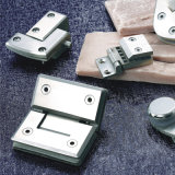 Alta calidad en acero inoxidable baño abrazadera de cristal del hardware B05-1