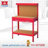 tabela de trabalho da bancada do carregamento 100kg com painel e a gaveta perfurados (YH-WT008)
