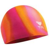 カスタムロゴの熱い販売のシリコーンの水泳帽