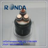 Cabo elétrico de cobre de Sqmm 6kv do sólido 120