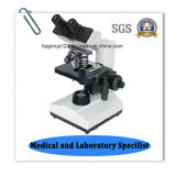 Microscope biologique binoculaire de Bz-104 DEL