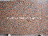 Hot White / Grey / Black / Pink / Brown / Beige Granite Tile para Wall / Floor Decoration