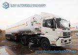 3 Radachse 54000 Liters Fuel Tank Truck Trailer, Fuel Tanker für Sale
