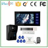 7 Zoll verdrahteten videotür-Telefon-Unterstützungs-Identifikation-Tastaturblock und Fernsteuerungs