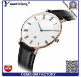 호환성이 있는 결박 싼 최신 판매 시계를 가진 Yxl-761 숙녀 가죽 시계