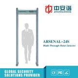 Écran LCD détecteur de métaux secret de cadre de porte de 6/12/18 contacts de converti intelligent de zones