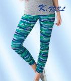 Pantalones de encargo de Legging de la yoga para el desgaste de los deportes de la gimnasia de la aptitud