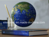 Cadeau de flottement et tournant de livre superbe de qualité du monde de carte de globe de Noël