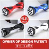 Scooter intelligent électrique de roues électriques du scooter deux de roue d'équilibre