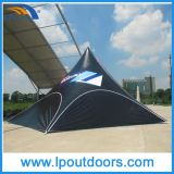16X21m Outdoor Advertizing Double Pole Shelter Star Shade Tent